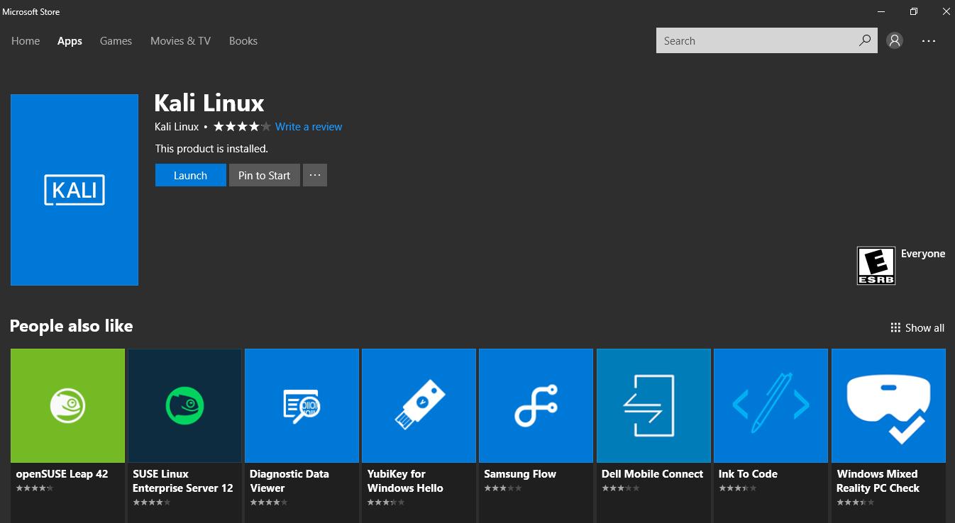 download kali linux on windows